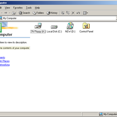 My Computer in Windows ME