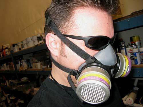 Bil respirator