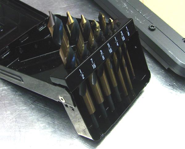 Drill bits plastic acrylic case mod