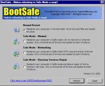 SUPERAntiSpyware BootSafe