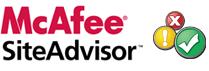 McAfee SiteAdvisor Logo