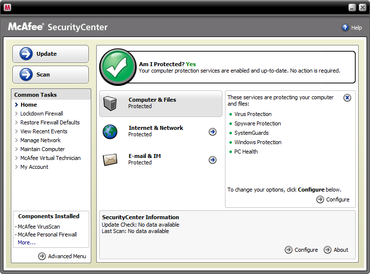 Mcafee Virusscan Computer Security Wiki Fandom Powered