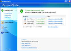 SpywareBlasterscreenshot
