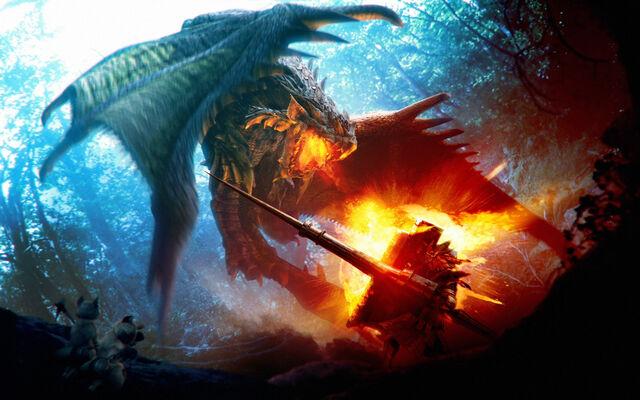 File:Dragon Fight Knight by Fajrul19.jpg