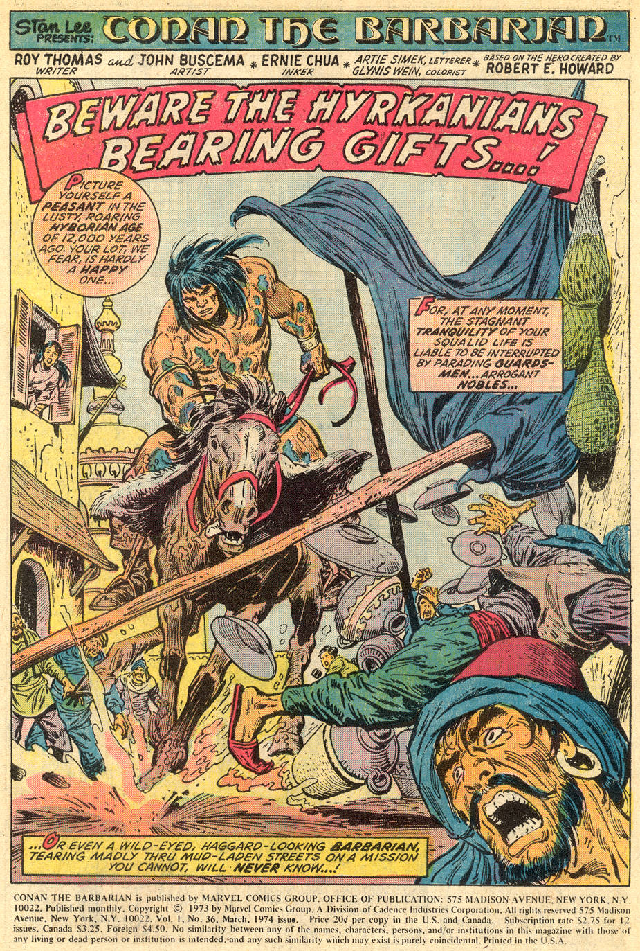 Conan the Barbarian 36 | Conan Wiki | FANDOM powered by Wikia