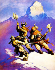 Frank Frazetta - The Frost-Giant's Daughter