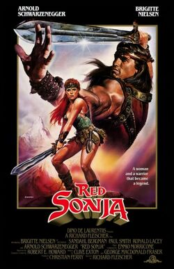 Red Sonja 1985 poster