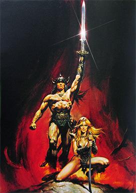 Conan the Barbarian by Renato Casaro