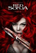 Red Sonja promotion poster 1