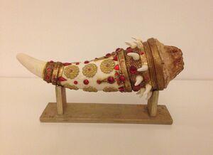 Jeweled Horn