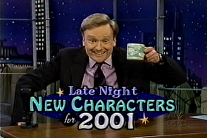 Late Night New Characters for 2001