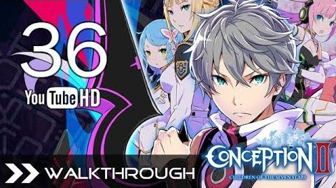 Conception II Children of the Seven Stars Walkthrough Gameplay - Part 36 (Alec Boss Fight) HD 1080p