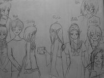 Shirley, Max, Ruca and Hildas Desendens