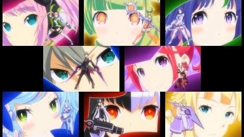 Conception II - All Character Transformations 3DS