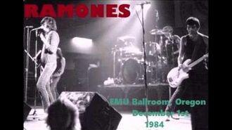 Ramones Live EMU Ballroom, Eugene, Oregon, USA 01 12 1984 (FULL SHOW)