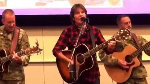 John Fogerty performs with Six-String Soldiers to mark POW-MIA Day at North Las Vegas VA Medical Ctr
