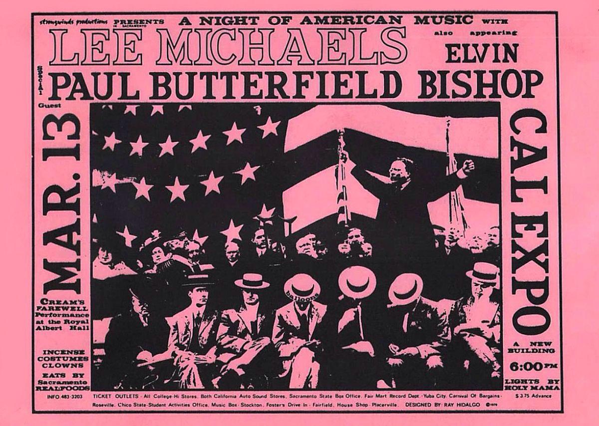 March 13, 1969 Cal Expo, Sacramento, CA | Concerts Wiki