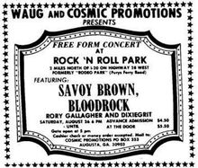 August 26 1972 Rock N Roll Park Augusta Ga Concerts