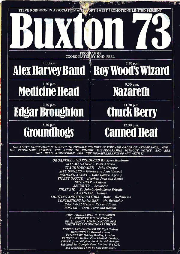 Image result for buxton festival 1973