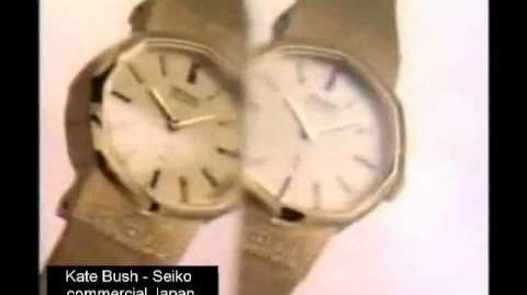 Kate Bush - Japanese Seiko commercial