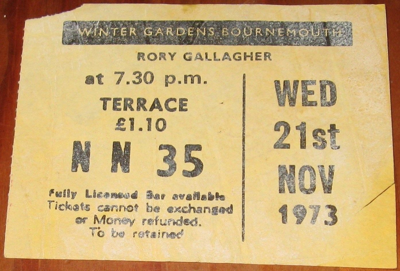 november 21 1973 winter gardens bournemouth eng concerts wiki