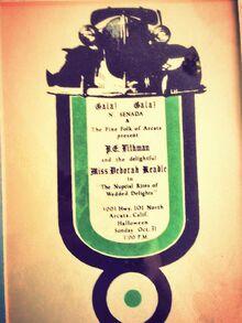 1971 Concert Poster