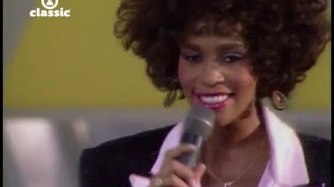 (HD) Whitney Houston - Love Will Save The Day (The 1987 Special Olympics Summer Games Opening)