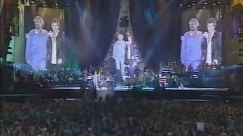 """Songs & Visions"" - Carlsberg Concert. Wembley Stadium London (1997)"