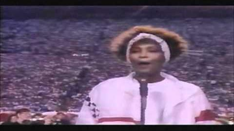 Whitney Houston - Star Spangled Banner