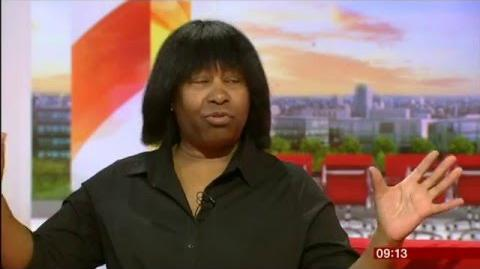 Joan Armatrading Lifetime Achievement Folk Awards interview prior
