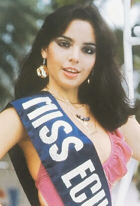 MISS ECUADOR 1982
