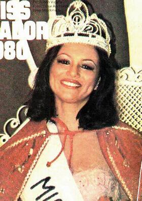 MISS ECUADOR 1980