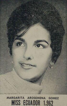 MISS ECUADOR 1962