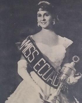 MISS ECUADOR 1957