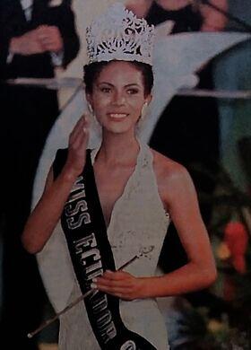 MISS ECUADOR 1998