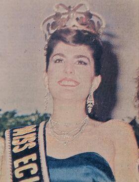 MISS ECUADOR 1986