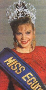 MISS ECUADOR 1991