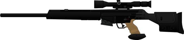 File:H&K PSG-1 Sniper Rifle.jpg