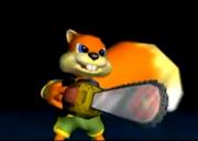 Rawr! Chainsaw