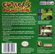 Conker Pocket Tales Back