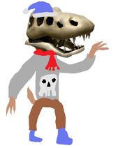 Santasaurus-Rex