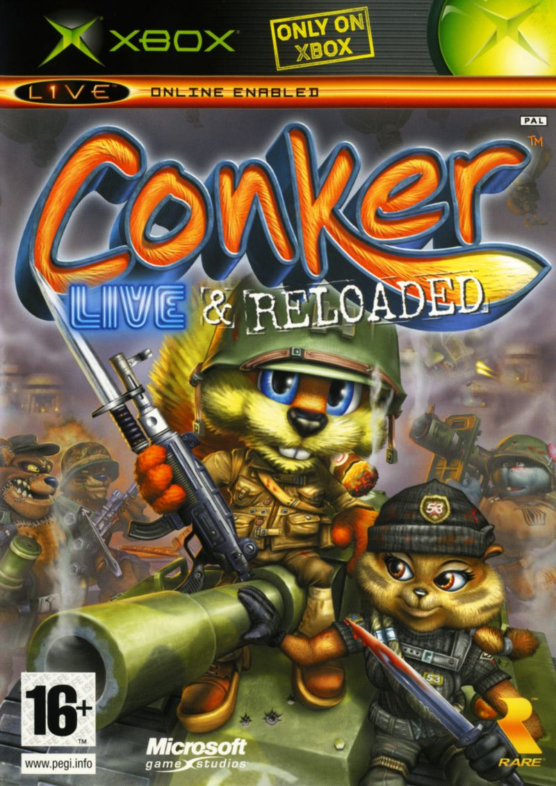 Conker live and reloaded potty mouth