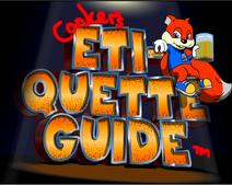 Conker's Etiquette Guide