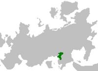 Dynezja na mapie