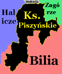 Ksp na mapie