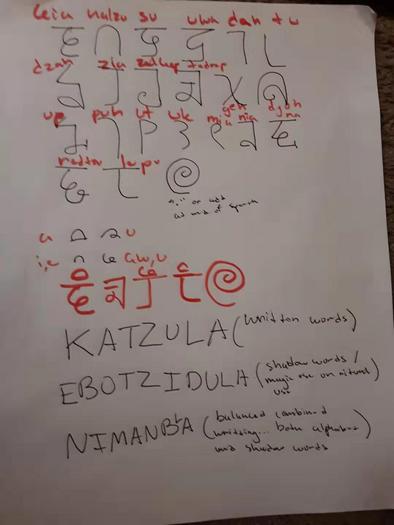 Writting system