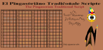 Pingasorian Traditional Script