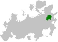 Selewia na mapie