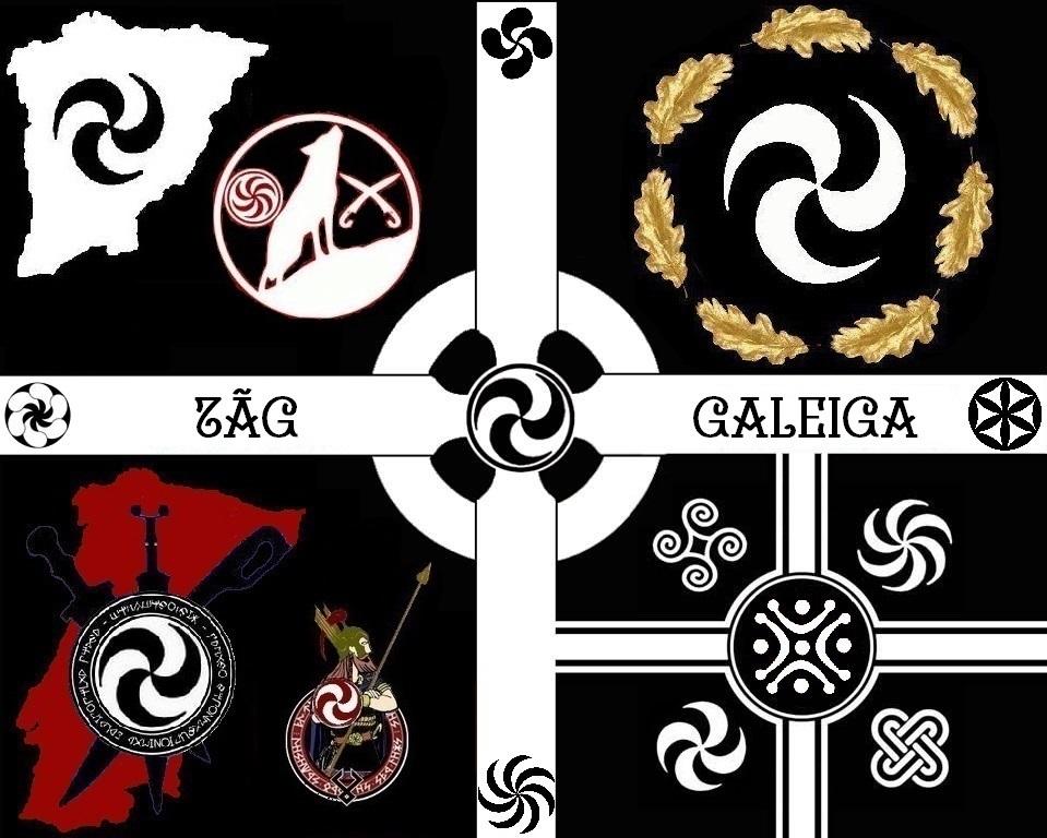 Risultati immagini per galicia druidic independence symbol