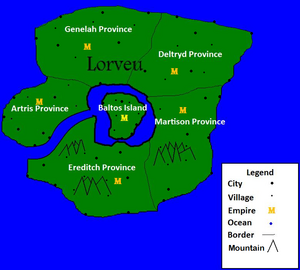 Lorveu Map